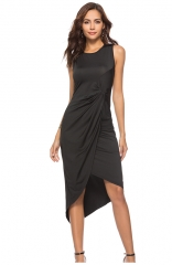 Summer Womens casual sleeveless dress